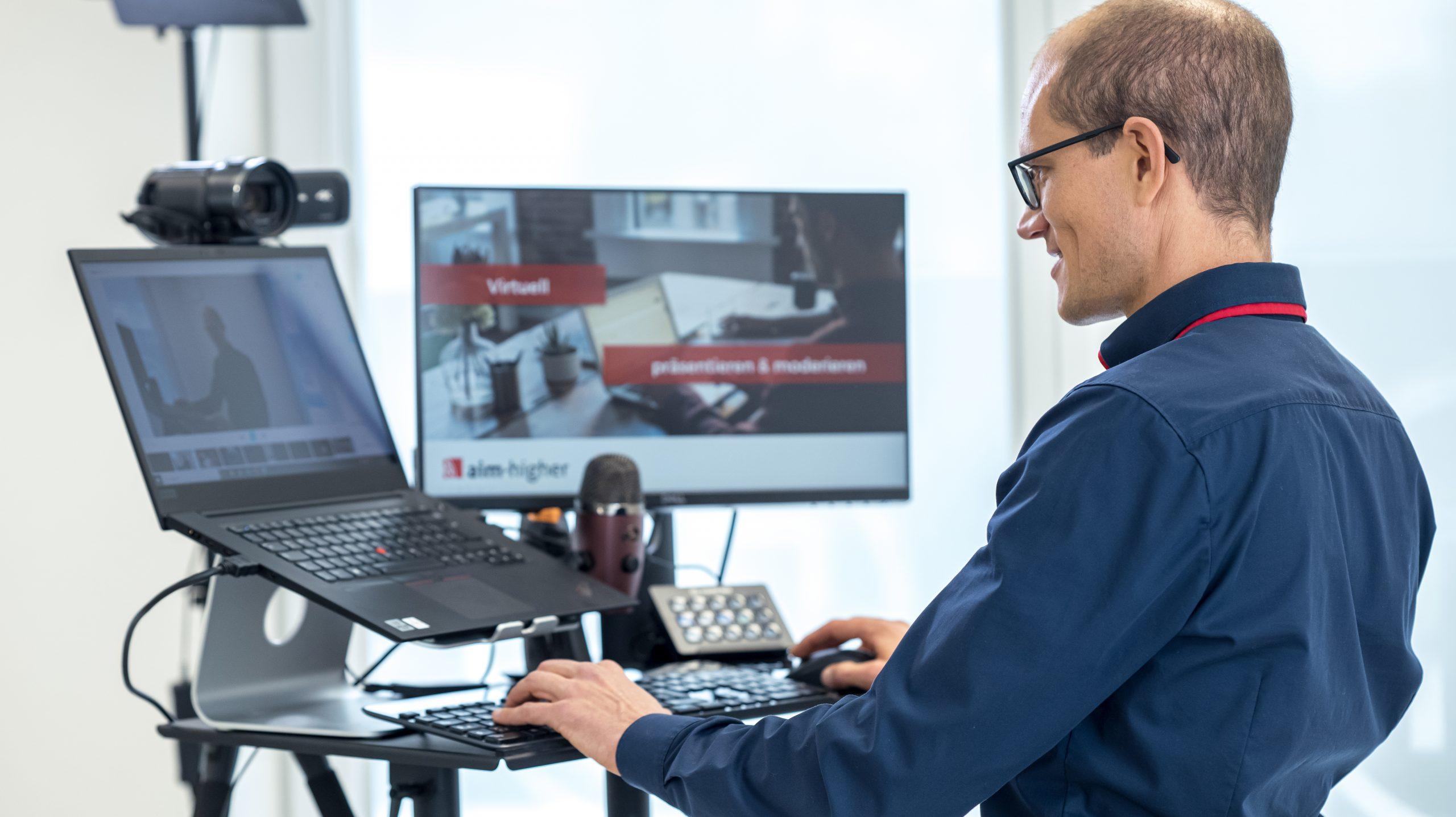 Virtuell Wissen Vermitteln Training